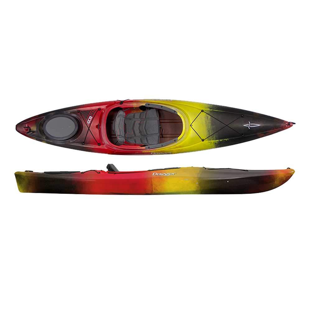 Dagger Zydeco Recreational Kayak - 11.0, Molten by Dagger