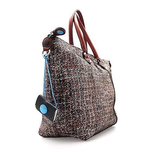 Nero Luna Donna G000030t3 Mano G3 Tweed X0435 Gabs Borse Rosso C0001 A Black q6nvwx4aUX