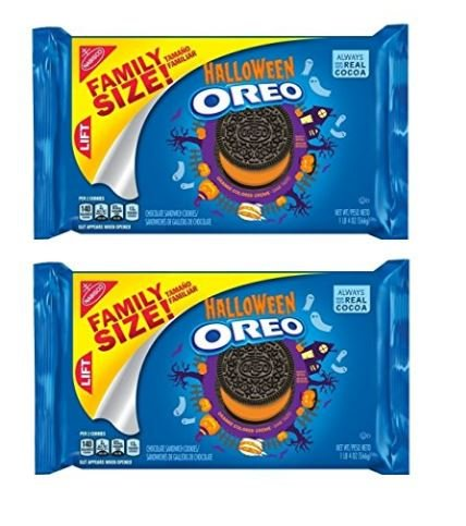 (Oreo Halloween Chocolate Sandwich Cookies, Family Size 20 Ounce Package (pack of)
