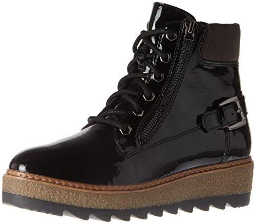 Rangers Noir black Patent Femme Tamaris Bottes 25220 wgETq77z