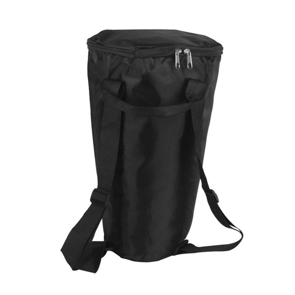 T-best Djembe Drum Carry Case Bag Soft Gig Bag Backpack, Portable Waterproof Black Shoulder African Drum Carry Bag Backpack Musical Instrument Accessory