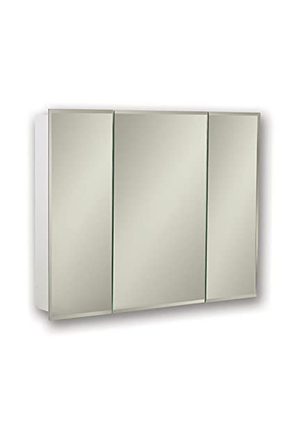 Genial Image Unavailable. Image Not Available For. Color: Jensen 255224X Tri View  Bevel Mirror Medicine Cabinet ...