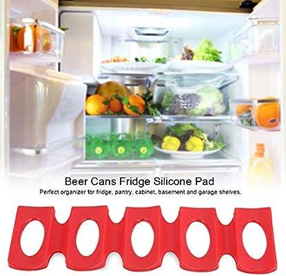 DGTRHTED Compartimientos del Organizador del refrigerador - Latas ...