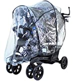 RAINCOVER RAIN COVER TO FIT THE GRACO QUATTRO DUO TANDEM TRAVEL SYSTEM & STROLLER TWIN RAINCOVER