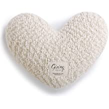 Giving Heart Weighted Pillow (Cream)
