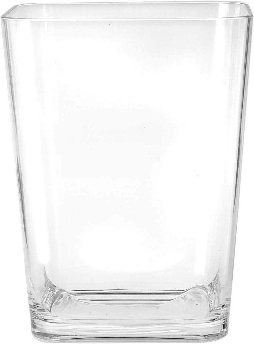 Amazon.com: Harman Bathroom Trash Can Clear Acrylic Plastic ...