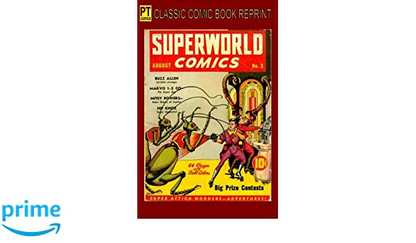 superworld comics 3 buzz allen 9780692668832 amazon com books