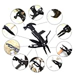 16 in 1 Multi tool, Survival Equipment, Gadgets for Men, All in One Claw Hammer Tools, Unique Christmas Birthday Gift…