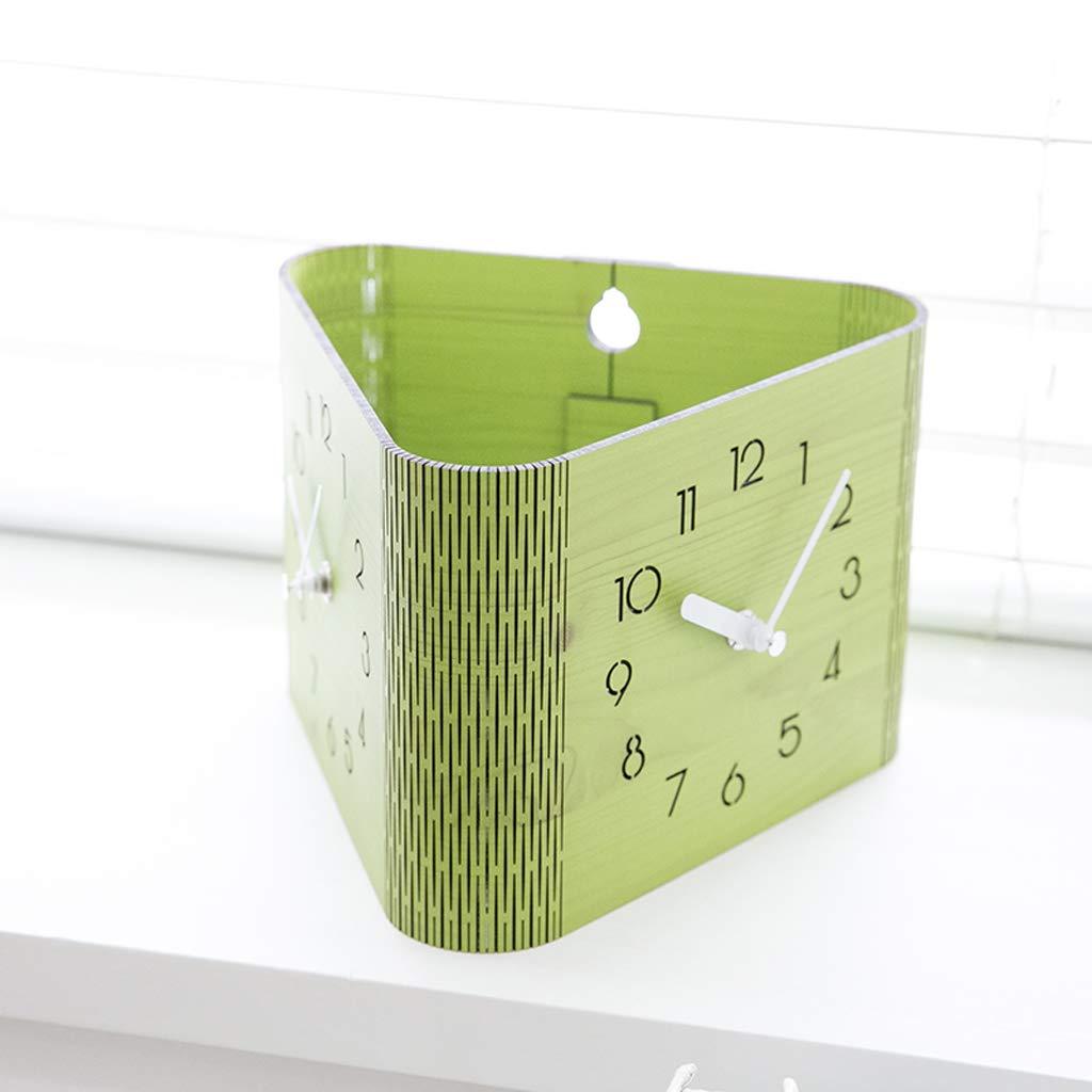 Xq Modern Minimalist Double-Sided Wall Clock Living Room Bedroom Home Clock Digital Deskclock by Xq