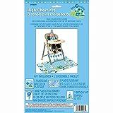 Turtle 1st Birthday High Chair Decoration Kit, 4pc