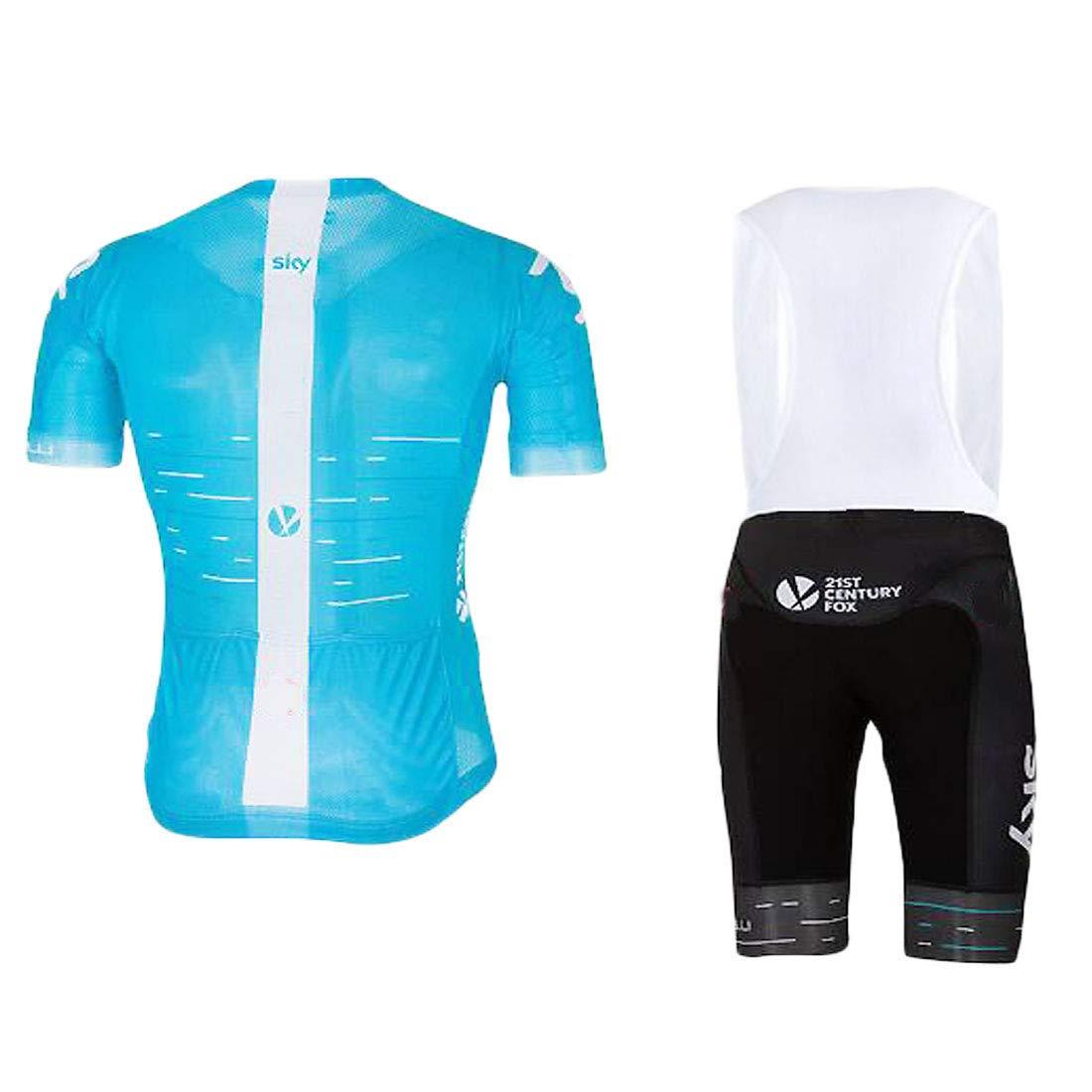 ZCFX Maillot de Sport en Plein air Maillot Cycliste v/êtement de Sport Chemise /à Manches Courtes Short Respirant et /à s/échage Rapide Printemps et en /ét/é