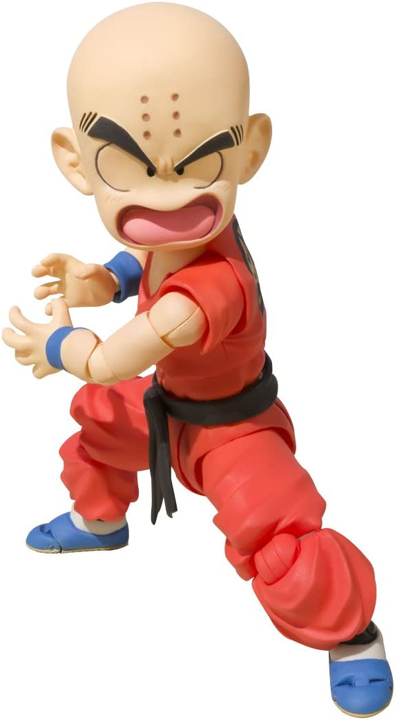BANDAI- Krilin Niño Figura 10 Cm Dragon Ball SH Figuarts ...