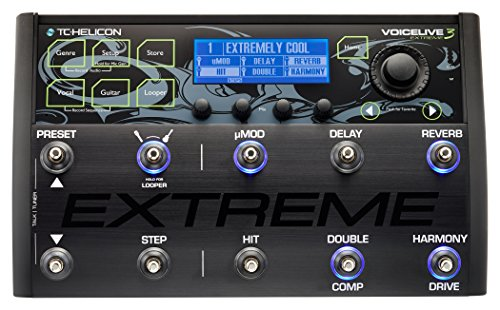 Live Sound Signal Processors - TC-Helicon VoiceLive 3 Extreme
