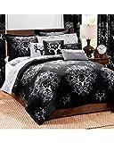 Bone Collector Comforter/Sham Set, Queen, Black/Grey