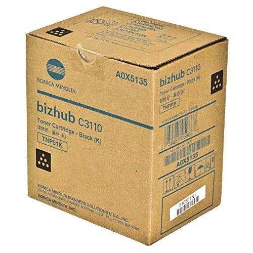 KONICA MINOLTA BIZHUB C3110 Black Original Toner (6,000 Yield)