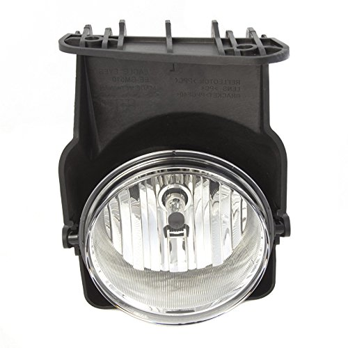 CarPartsDepot 05-07 GMC SIERRA FOG LAMP LIGHT ASSEMBLY HYBRID SLE SLT RIGHT PASSENGER