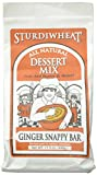 Sturdiwheat Bar Mix Ginger Snappy, 17.5 Ounce (Pack of 4)