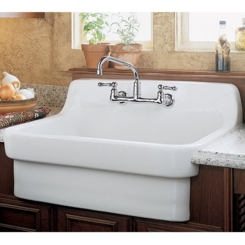 Amazing American Standard 9062.008.020 Country Kitchen Sink With 8 Inch Centers,  White Heat   Single Bowl Sinks   Amazon.com