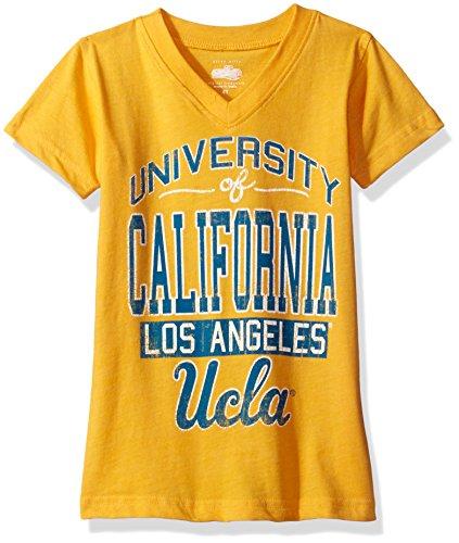 NCAA UCLA Bruins Children Girls V-Neck Short Sleeve, used for sale  Delivered anywhere in USA