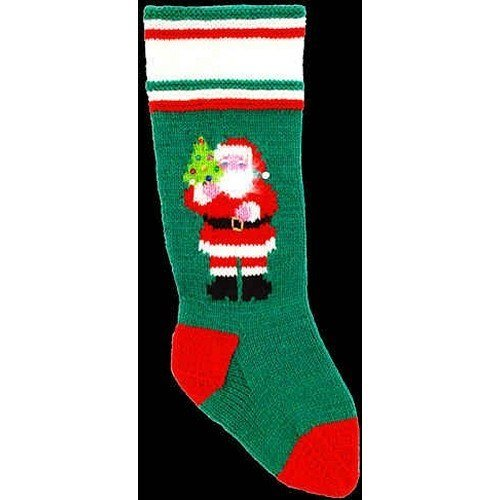 DooLallies Christmas Stockings Kits Santa with Tree
