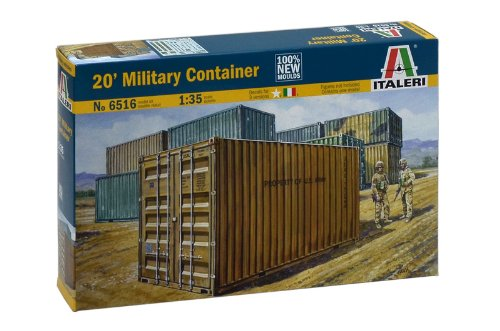 Italeri 20' Military Container 1:35 Scale Military for sale  Delivered anywhere in USA