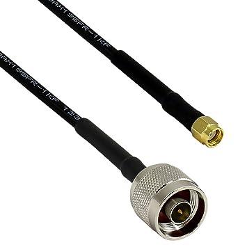 altelix RP-SMA macho a N macho 195 Cable Wifi coaxial 20 pies (RP