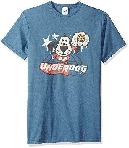 Trevco Men's Underdog Short Sleeve T-Shirt, Slate, 2XL