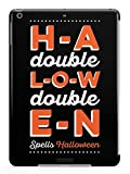 Inspired Cases 3D Textured H-A-Double-L-O-W-Double-E-N Spells Halloween Case for iPad Mini