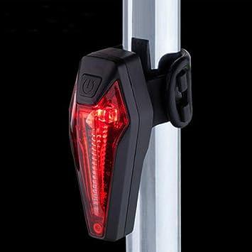 Luz Trasera para Bicicleta Recargable USB StVZO Super Brillante ...