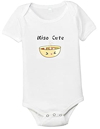 f7956fb055 Amazon.com: Miso Cute One-piece Baby Shirt/Bodysuit: Infant And ...