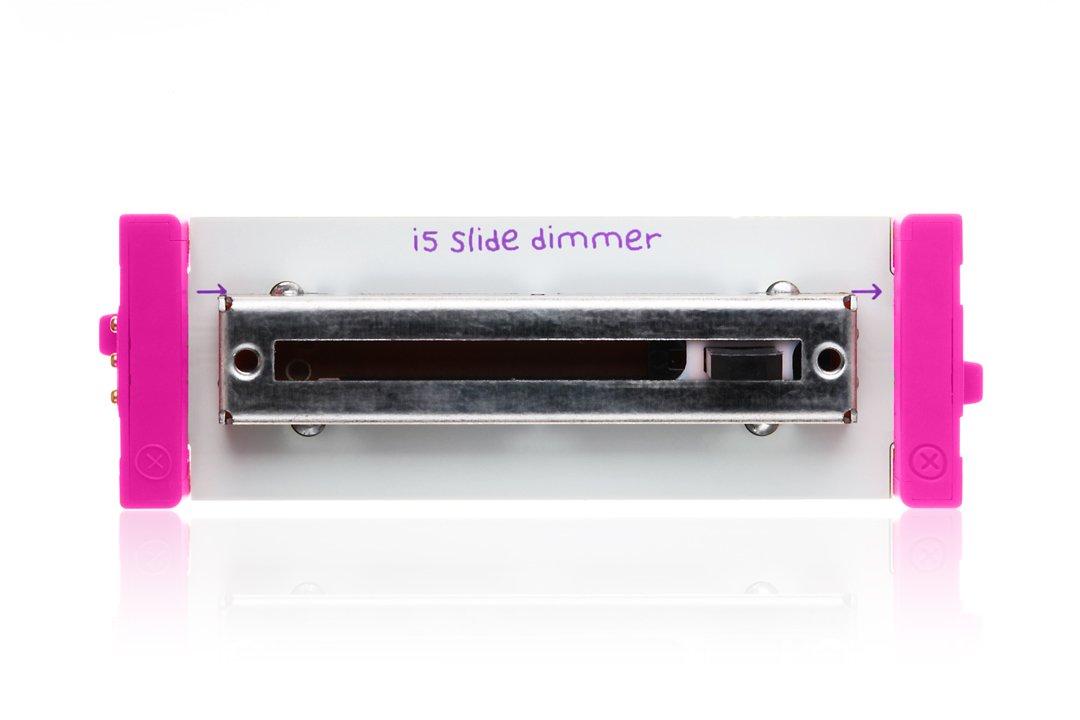 【大注目】 littleBits B00AWTTZKUlittleBits 電子スライド調光器 B00AWTTZKU, 川越町:63bd7059 --- diceanalytics.pk
