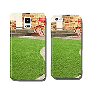 Way with perfect grass landscaping with artificial grass cell phone cover case Samsung S6