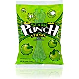 Sour Punch Apple Straws (4.5-Ounce Bags, Pack of 12)