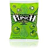 Sour Punch Apple Sour Straws 4.5 oz Bag (12 Pack)
