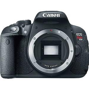 Canon EOS Rebel T5i Digital SLR Camera (Body Only) International Version (No warranty)