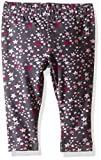 Gymboree Toddler Girls' Printed Legging, Gray Star, 12-18