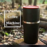 Raza Portable 230ml Camping Travel Coffee Grinding Machine 4 In 1 Brewed Coffee Bean Grinder Hand Manual Handmade Bean Mill Mug