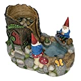 Nature's Garden Gnome Fountain, Resin For Sale