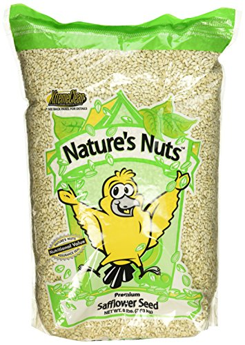 Chuckanut Products 00029 8-Pound Premium Safflower Seed