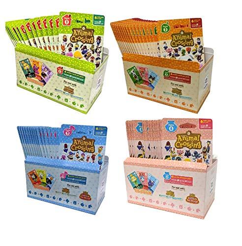 Animal Crossing Amiibo Cards Series 1 2 3 4 Set Bundle (72 Packs) (6 Cards Per Pack / 456 Cards) by Nintendo (Image #5)