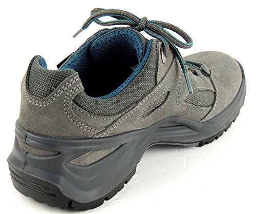 Lowa - Botas de senderismo de Piel para mujer gris