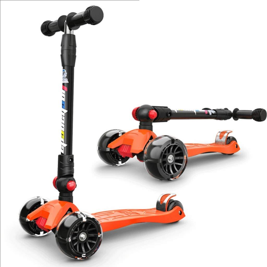 【全品送料無料】 WangYi スケートボード- 212歳に適した四輪フラッシュホイールの子供用スクーター さいず (色 : Orange, サイズ 58x13x89cm) さいず 58x13x89cm : 58x13x89cm) B07NN1J31L Orange 58x13x89cm, FlamingoHip:b81fede5 --- a0267596.xsph.ru