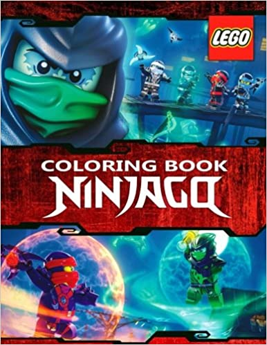 LEGO NINJAGO Coloring Book A Great Activity For Your Children Master Lego 9781548291952 Amazon Books