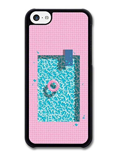 Summer Sun Pool Style Hipster Diving Rubber Ring in a Minimalist Style case for iPhone 5C