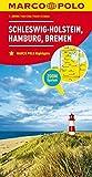 MARCO POLO Karte Deutschland Blatt 1 Schleswig-Holstein 1:200 000: Hamburg, Bremen (MARCO POLO Karten 1:200.000)