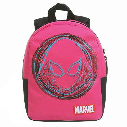 Mochila G + Mochila P, DMW Bags, Spider Gwen, Coleção Pais e Filhos, 11685