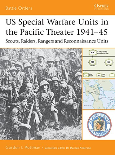 US Special Warfare Units in the Pacific Theater 1941–45: Scouts, Raiders, Rangers and Reconnaissance Units (Battle Order