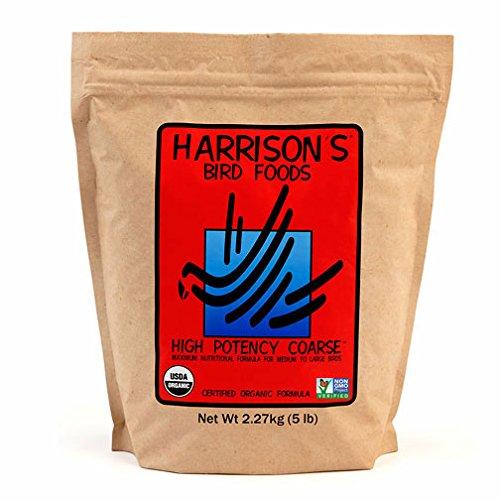 Harrison's Bird Foods High Potency Coarse 5lb by Harrison's Bird Foods