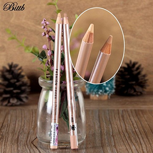 1PC Brighten Concealer Pencil Cover Dark Circle Acne Spotted Easy Color Concealer Cream Face Makeup Foundation Lasting