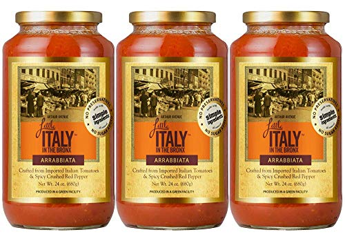 Little Italy Bronx Alla Vodka Sauce 24 oz (3 Pack) -  Gia Brands Inc